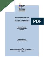 Internship Report Format (1)