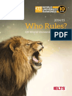 QS WUR Supplement2014