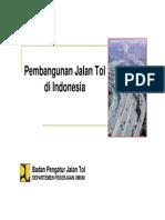 1 Presentasi AKI - Pembangunan Jalan Tol Di Indonesia