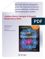 2015 Applied Nanoscience