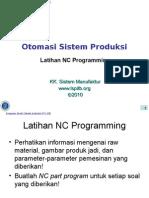 Latihan NC Programming