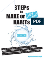 7 Steps Make Break Habits Summary