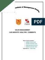 Sales Analysis Ambassador