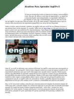 Conheça Cinco Aplicativos Para Aprender Inglês E Praticar O Idioma