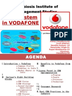 CRM System in Vodafone