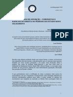 GUARDIÃO, Ana Filipa - «Nacionalismos de Oposição – Comunistas e Radicais de Direita No Período Do Estado Novo Salazarista