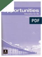 252419318 New Opportunities Pre Intermediate Test Book