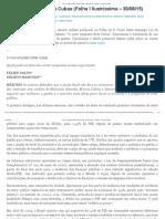 O Novo Emplasto Brás Cubas (30/08)