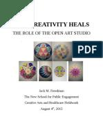How Creativity Heals