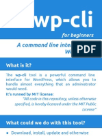 wp-cli for beginners