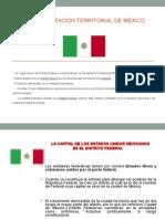 Diapositivas Completas Organización Territorial de México Para Exponer