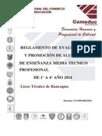 Reglamento de Evaluaci%c3%93n y Promoci%c3%93n 1 a 4 Em Liceo Tecnico de Rancagua a 4