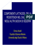 Componenti Lattacide Della Resistenza Nel Calcio - E.arcelli (1)