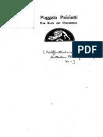 Nyanatiloka_1910_Puggala Paññatti – Das Buch der Charaktere