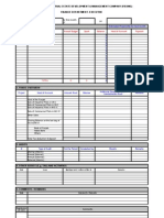 Report Format Finance