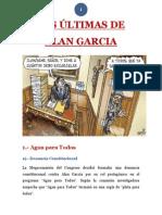 2-Las Ultimas de Alan Garcia