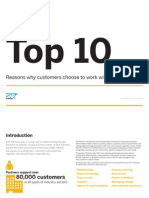 Top 10 Reasons Customers Choose to Work With Sap Partners 2012 121112122055 Phpapp02
