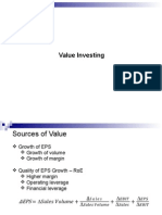 Security Analysis PPT - Value Investing