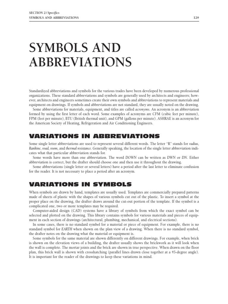 Symbols abbreviations wall masonry buycottarizona Images