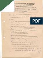Calculo multivariable - examenes finales