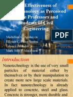 The Effectiveness of Nanotechnology