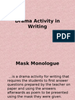 Drama Activity in Writing