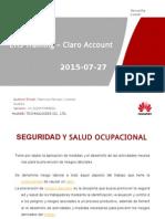 Ehs Training Claro Account 27 de Aug 2015