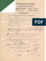 Calculo multivariable - Examenes parciales