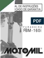 Furadeira Motomil FBM160i