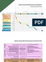 Jadwal Pas Periode Ganjil 2015-2016 & Tanggal Penting