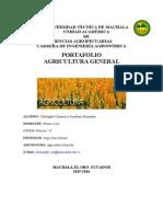Portafolio de Agricultura General