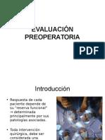 2.- Evaluacion Pre Operatoria