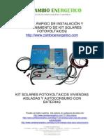 Instrucciones Montaje Mantenimiento Kit Solar