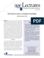 America Christian Founding