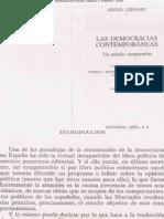 LIJPHART, Arend, Democracias Contemporáneas