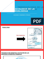 Farmacología de La Analgesia