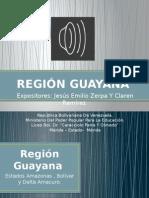 Región Guayana presentacion