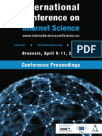 Internet Science Conference Proceedings. - Unknown