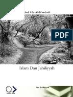 Al-Maududi - Islam Dan Jahiliyyah Oleh Al-Maududi