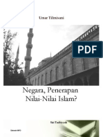 Umar Al Tilmisani - Negara Penerapan Nilai Islam
