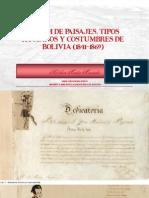 Melchor Maria Mercado Album de Paisajes Tipos Humanos y Costumbres de Bolivia 1841 1869