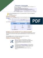 Números Irracionales Definicion&Ejemplos