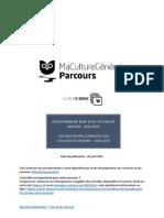 Questions d'Actualité - Janvier-juin 2015