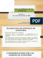 1.3 Planear El Enfoque de La Auditoria