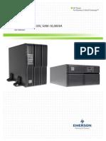 UPS Emerson - Manual