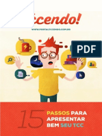 eBook 15 Passos Para Apresentar Seu TCC