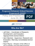 Session D DSSF Overview Policy and Practice Conference