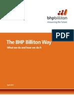 The BHP Billiton Way April 2012