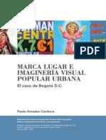 Marca Lugar e imaginería visual popular urbana