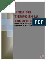 Linea de Tiempo en La Historia de La Arquitectura